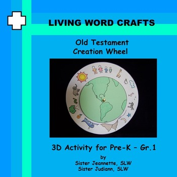 Old Testament Creation Wheel for Pre-K to Gr. 1