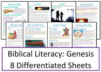 Old Testament: Genesis Activities / Worksheets