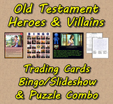 Old Testament Heroes&Villains Trading Cards/Bingo/Slidesho
