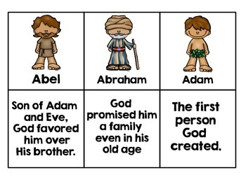 Old Testament Matching Game