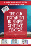 Old Testament Themes:  A SIMPLE SENTENCE SYNOPSIS
