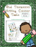 Old Testament Writing Center Tools: Religious Words Freebie