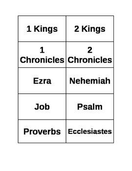 Old Testament flashcards