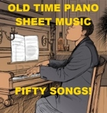 Old Time Piano Sheet Music
