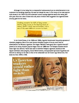 Old Time Radio Cigarette Commercials mp3s