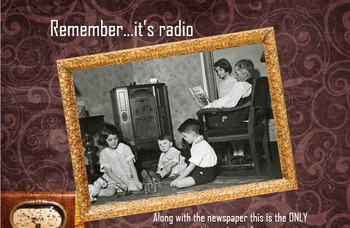 History - Causes of WW1-Radio Project (Print and Present)