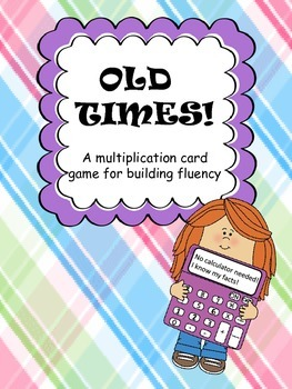Multiplication Card Game