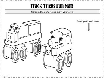 Old Tracks New Tricks Creative Fun Mats