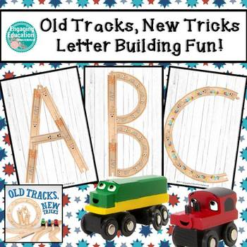 Old Tracks, New Tricks Letter Building Fun!