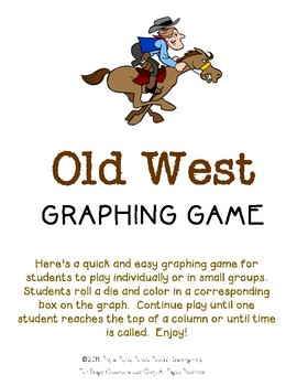 Old West Graphing Game