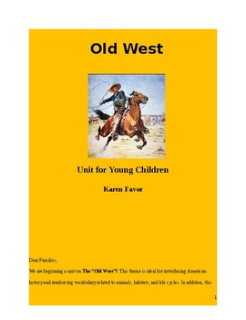 Old West Unit for Early Childhood