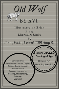 Old Wolf by Avi Literature Study