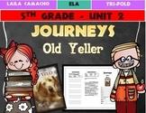 Journeys Grade 5 Trifold (Old Yeller)