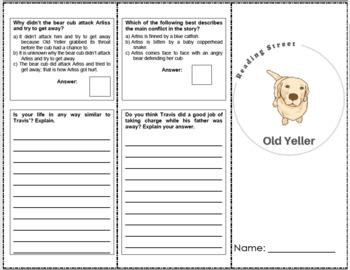 Old Yeller - 6th Grade Reading Street