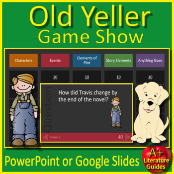 Old Yeller Review Game