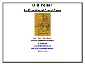 Old Yeller Board Game
