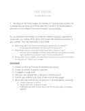 Old Yeller Common Core Text Based Writing Prompt