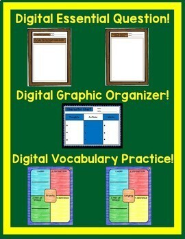 Old Yeller Journeys 5th Grade Lesson 7 Google Digital Resource