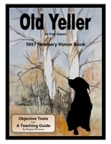 Old Yeller Objective Tests
