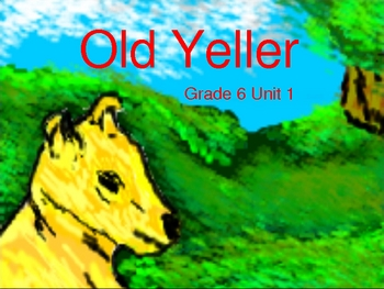 Old Yeller Power Point