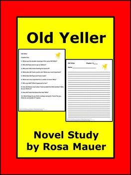 Old Yeller Novel Study