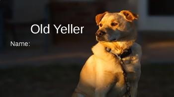 Old Yeller Vocab Question Slides