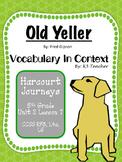 Old Yeller - Vocabulary