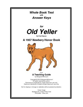 Old Yeller Whole Book Test