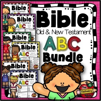 Old and New Testaments Alphabet Bible Bundle