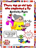 Old lady who swallowed a fly - Activity Pack - Crafts, act