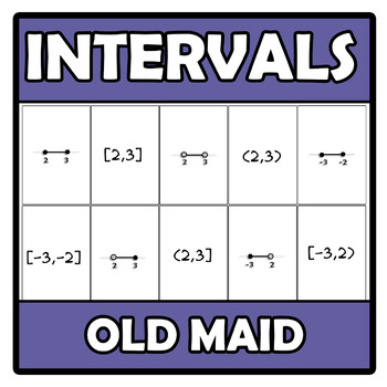 Old maid (Memory) - Intervals