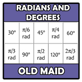 Old maid - Radians to degrees