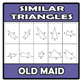Old maid - Similar triangles