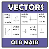 Old maid - Vectors