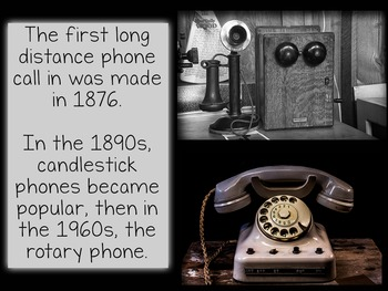 Olden Days: Life More Than 100 Years Ago