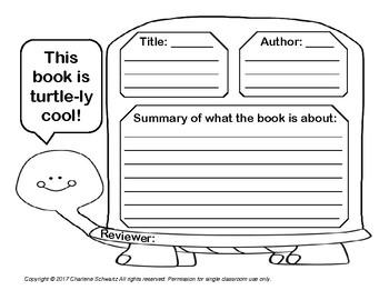 Older Turtle Book Report