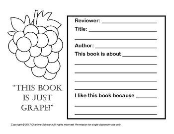 Fruit Salad Book Report