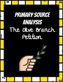Olive Branch Petition Primary Source Analysis - Differenti