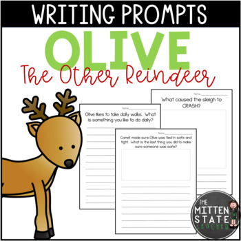 Olive The Other Reindeer Writing Prompts