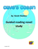Olive's Ocean guided reading novel study plan