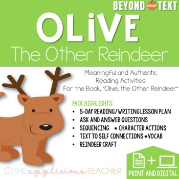 Olive the Other Reindeer: Close Reading
