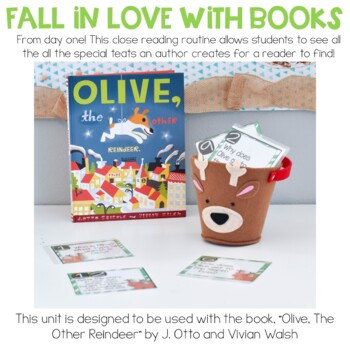 Olive the Other Reindeer Close Reading Activities