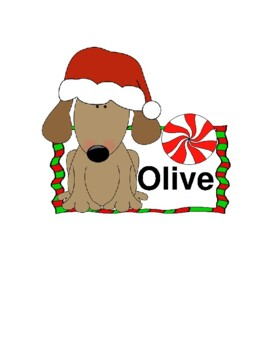 Olive, the Other Reindeer -- A Christmas Reader's Theater