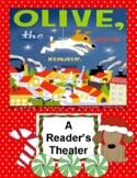 Olive, the Other Reindeer -- A Reader's Theater, Word Card