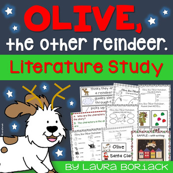 Olive the Other Reindeer ~ A Close Reading Literature Study