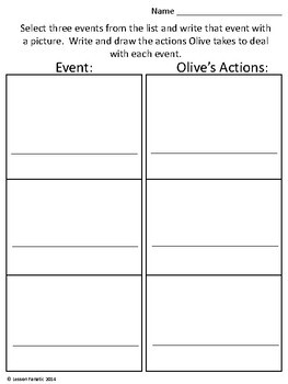 Olive, the Other Reindeer    A Printable Unit and Sub Plans