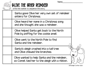 Olive the Other Reindeer Book Companion