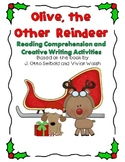 Olive the Other Reindeer Comprehension and Writing Mini-Pack