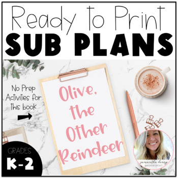 Olive the Other Reindeer Lesson Plans