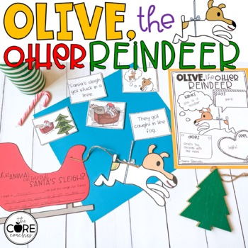 Olive the Other Reindeer: Interactive Read-Aloud Lesson Plans and Activities